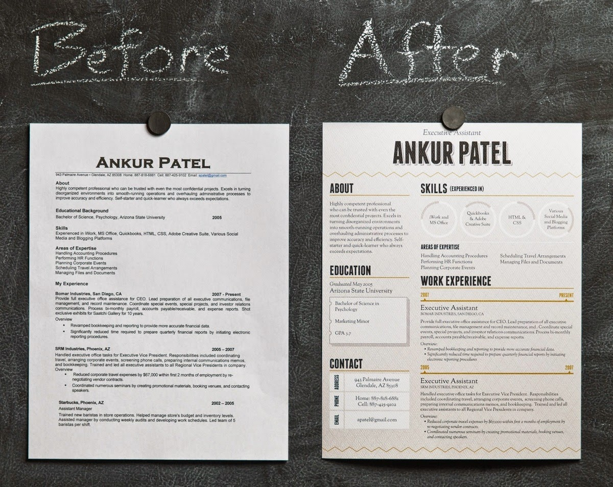 Sugar Pinoy These Beautiful Resumes Will Make Any Boss Say You