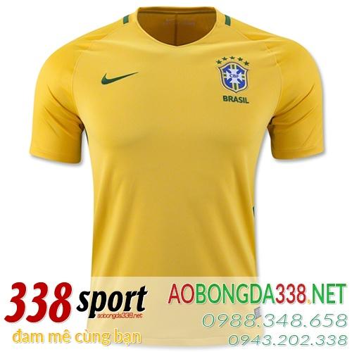 áo đội tuyển brazil sân nhà 2016