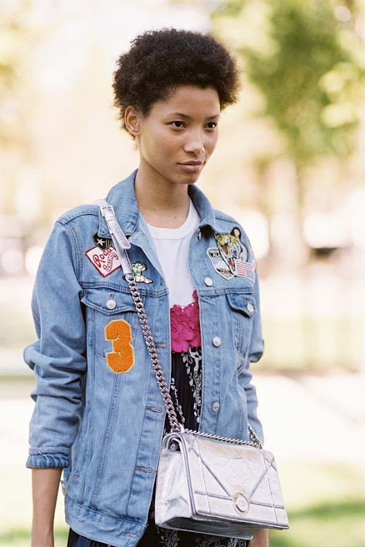 Lineisy-Montero-Street-style-at-Paris-Fashion-Week-Spring-Summer
