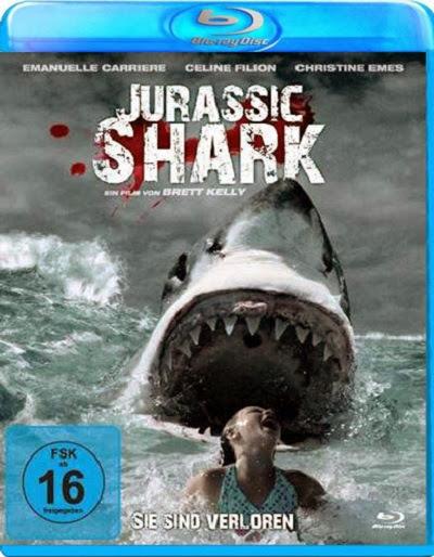 Jurassic Shark 2012 Hindi Dubbed Dual Audio BRRip 720p 450mb