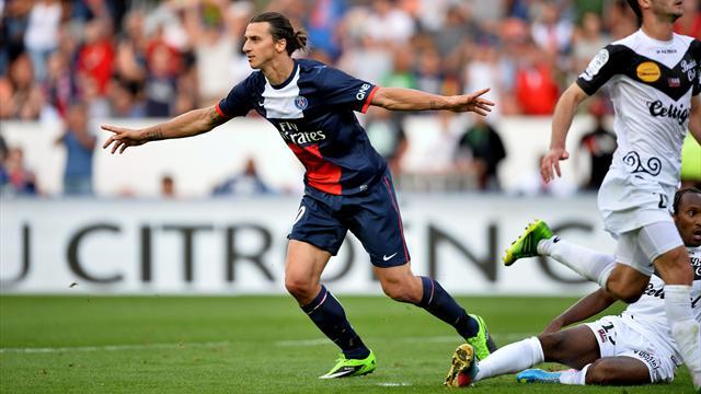 Paris St Germain vs Guingamp