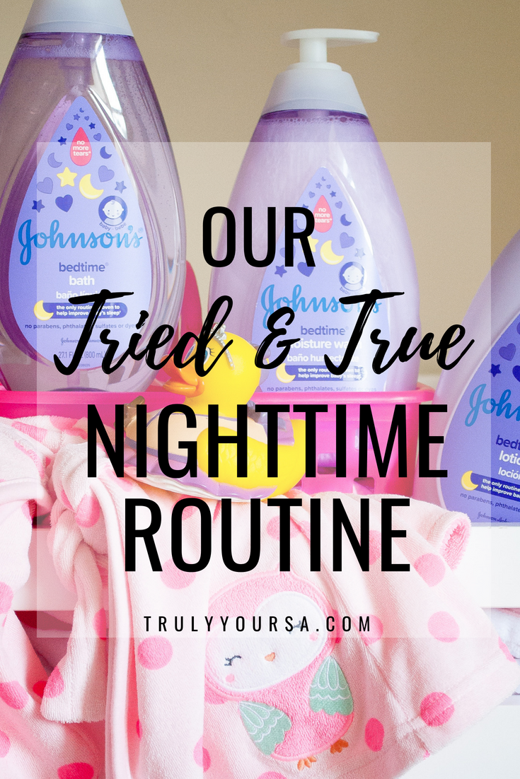 AD As a first-time mom it took me months to even think of developing a nighttime routine for McKenna. I thought I could just lay her in her bassinet at bedtime and she would magically fall asleep. If I could only redo one thing from her first year I would definitely incorporate a bedtime routine from the start. Since we've started using this tried and true nighttime routine McKenna falls asleep faster and stays asleep longer! Of course, a tried and true nighttime routine isn't complete without using tried and true gentle products from JOHNSON'S®! #GetJohnsonsBaby #ChooseGentle #babybedtimeroutine #nighttimeroutine #babynighttimeroutine @Target @JohnsonsBaby