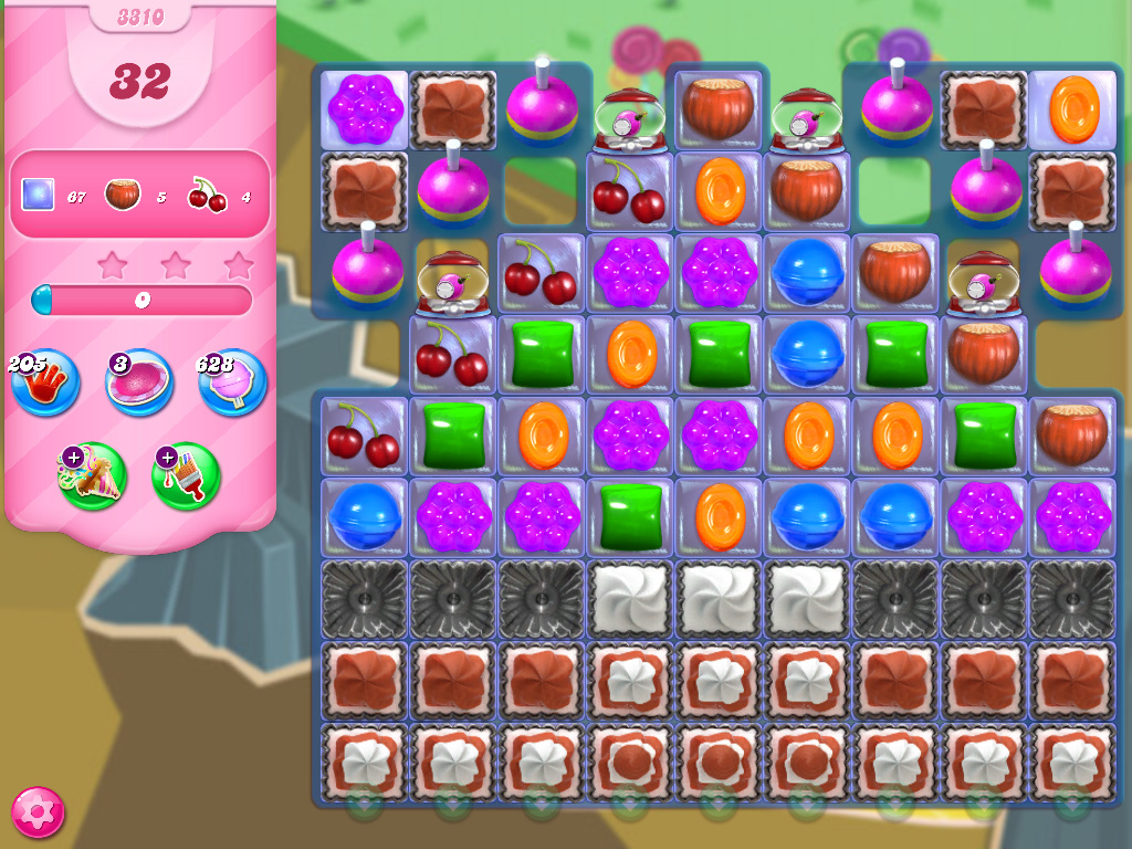 Candy Crush Saga level 3310