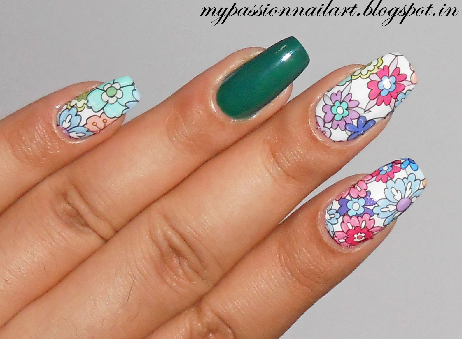 Nail Art My Passion: Review Part 2: Nicole Diary Water Decals