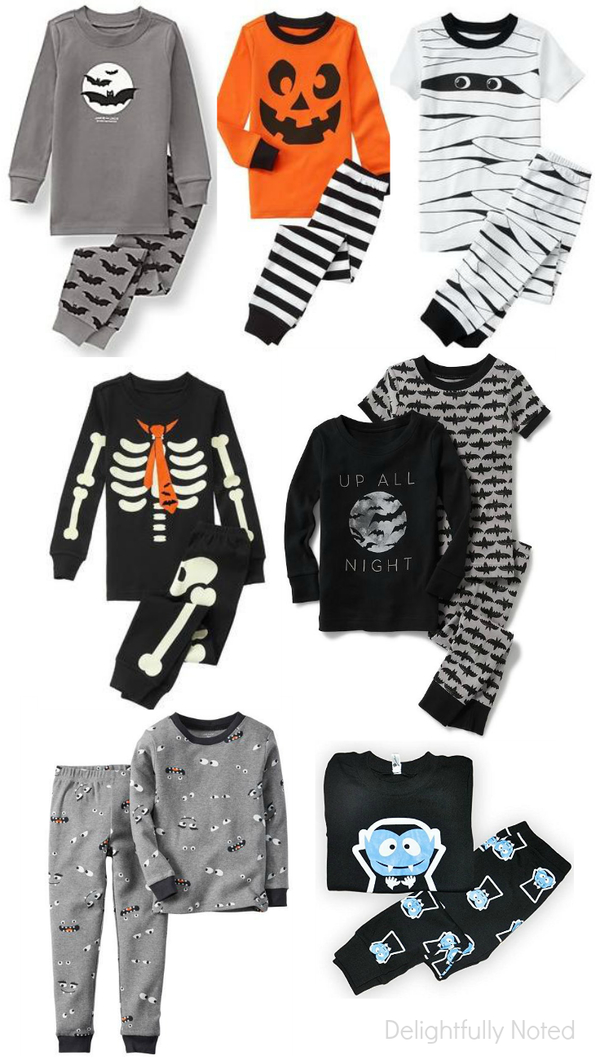 Halloween pajamas for boys