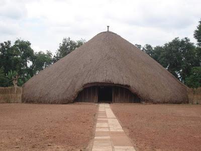 A glance at the Kasubi tombs in Buganda ( Uganda )
