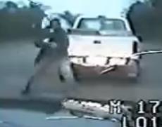 Oficial  asesinado  durante una parada de rutina
