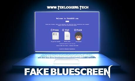 Cara Membuat Fake Bluescreen