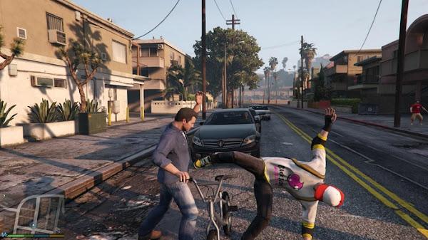 Grand Theft Auto V (USA+EUR) + DLC PS3 ISO Screenshots #3