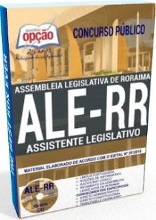 Apostila concurso ALE RR 2018 Assistente Legislativo