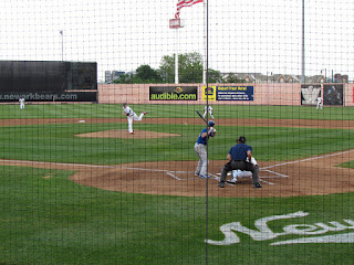 First pitch, Boulders vs. Bears