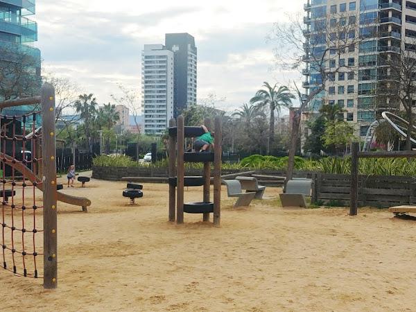 Sortie en famille : Le parc Diagonal Mar de Barcelone