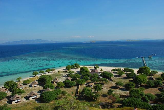 Pulau bidadari, labuan bajo, wisata indonesia