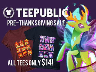 Teepublic's Pre-Thanksgiving Sale