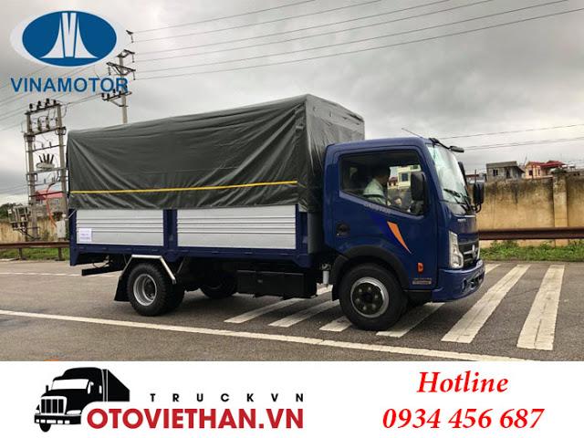 Xe tải Cabstar Nissan NS200 thùng bạt