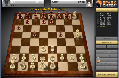 Sparkchess Jaque Mate