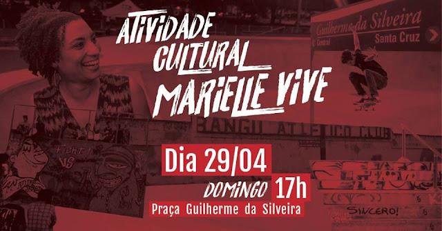 Atividade Cultural Marielle Vive
