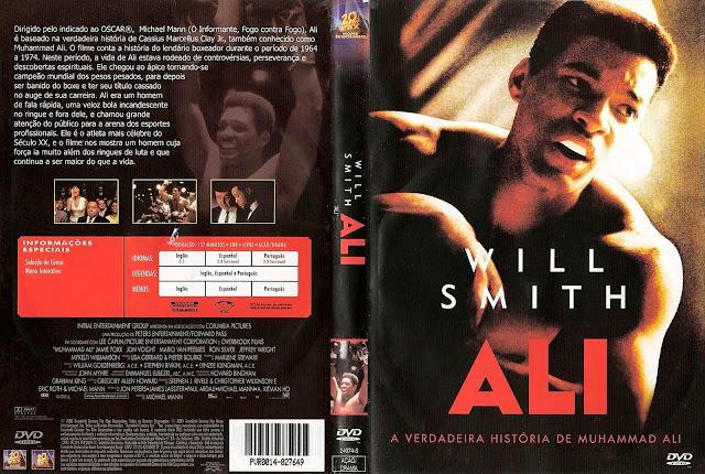 Capa DVD Ali