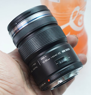 Lensa Olympus 12-50 f3.5-5.6 M4/3 Bekas