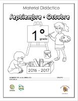 1 Material de apoyo para el Bimestre septiembre - octubre  Ciclo escolar 2016 - 2017.