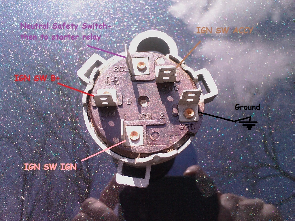 5 wire ignition switch diagram chevy trucks 4 door rebel look wiring diagrams