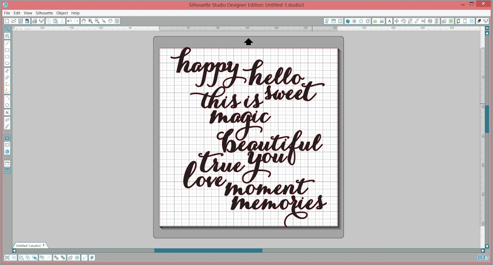 How To Use Silhouette Sketch Pens | A Silhouette Cameo Tutorial by Monique Liedtke