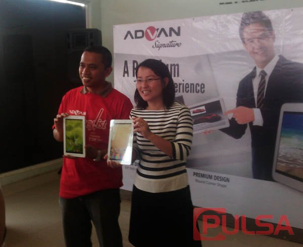 Advan T3X, Tablet Flagship Berlayar 8.9 Inchi Full HD