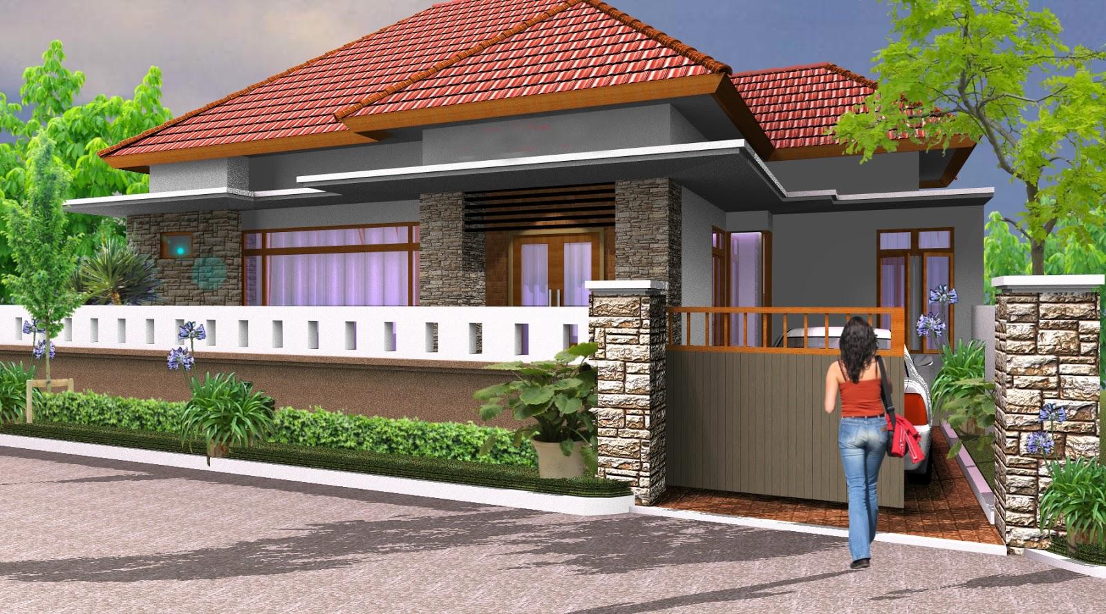 Gambar Pagar Rumah Halaman Sempit Desain Rumah