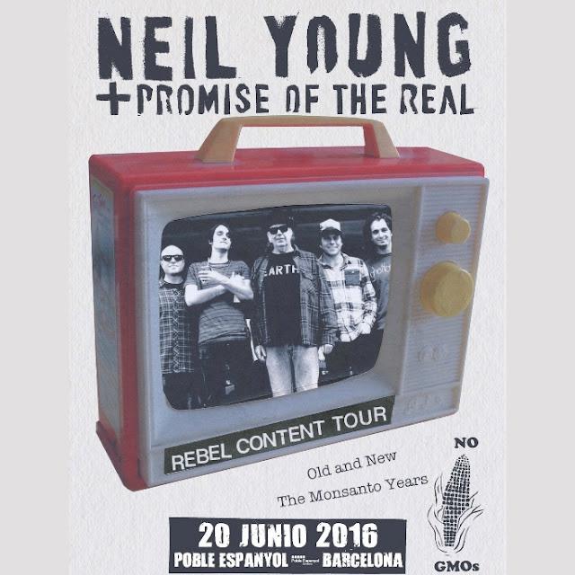 Neil Young concierto Barcelona Poble Espanyol