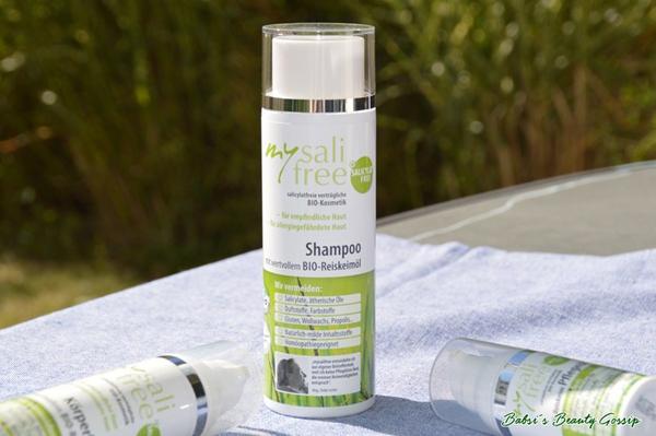 mildes Shampoo für gereizte Kopfhaut