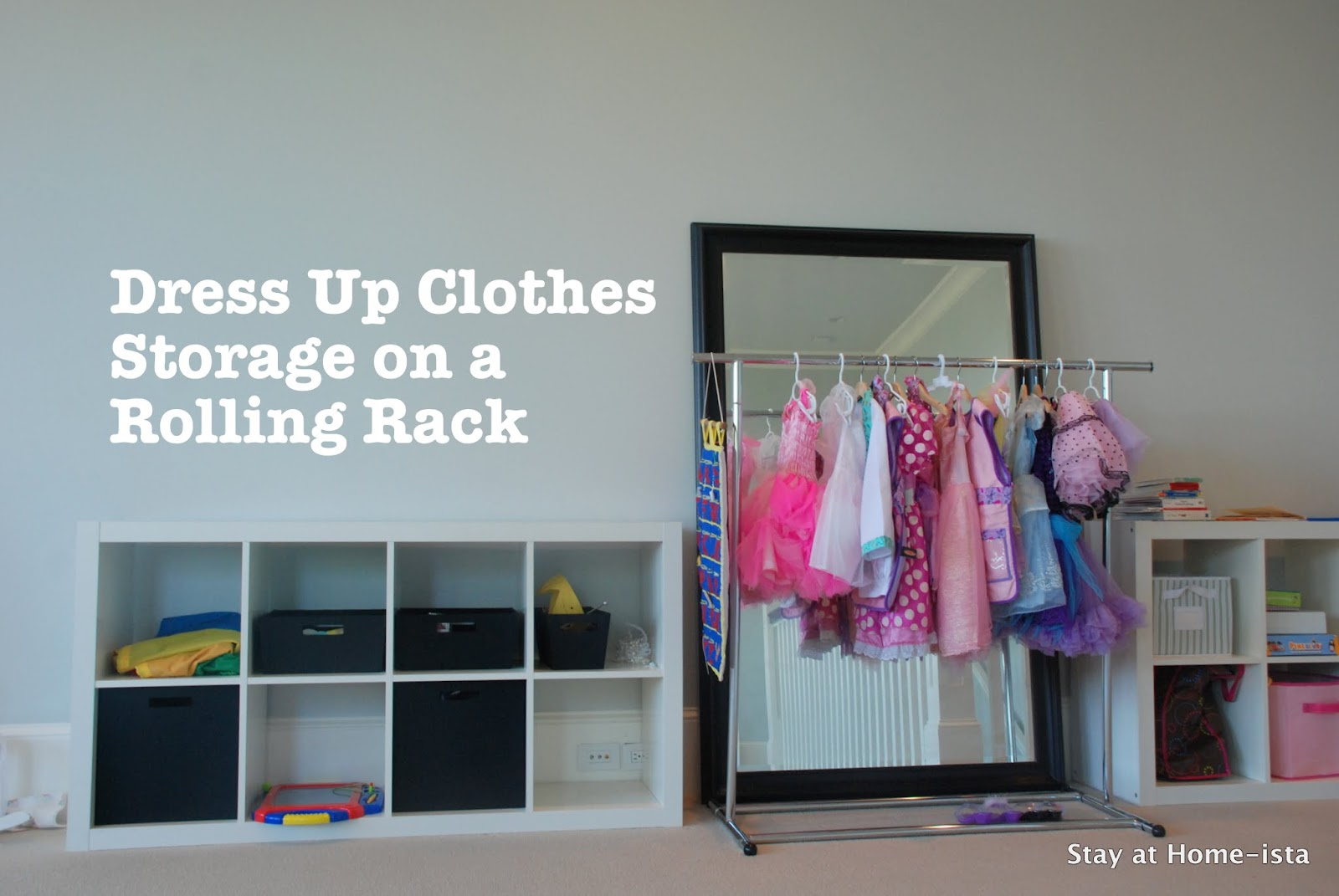 Organizing Dress Up Clothes
