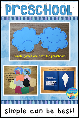 Using themes in preschool therapy- tips from Looks Like Language.