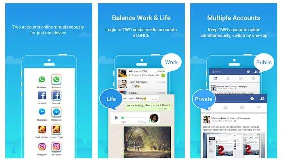 Parallel Space aplikasi Kloning di Android dengan Mudah