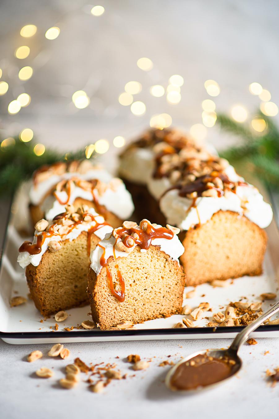 Ciasto karmelowo-orzeszkowe