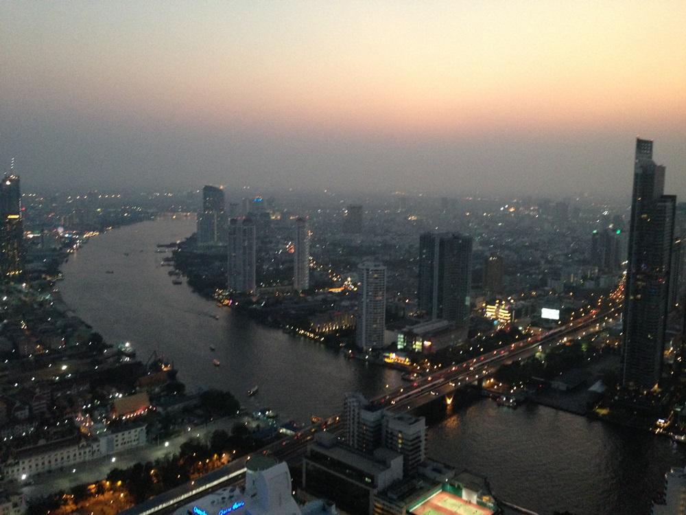 Bangkok: Die Skybar aus Hangover 2