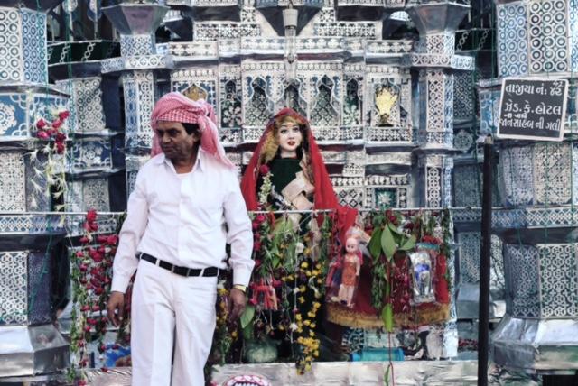muharram india 2015 ahmedabad street procession tazia