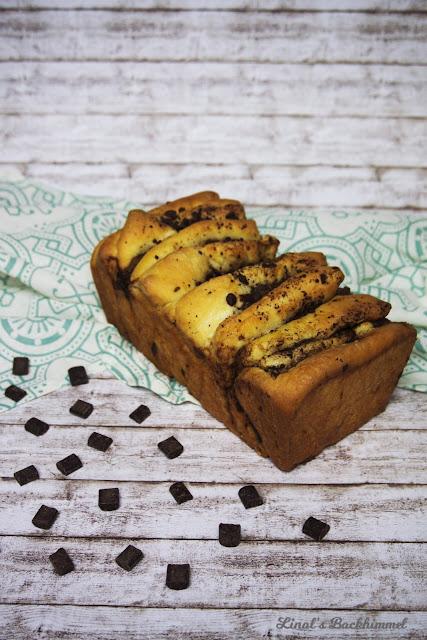 Nougat-Schokoladen-Zupfbrot