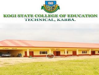 Kogi State College of Education (Tech), Kabba 2018 Internal & External Job Vacancies
