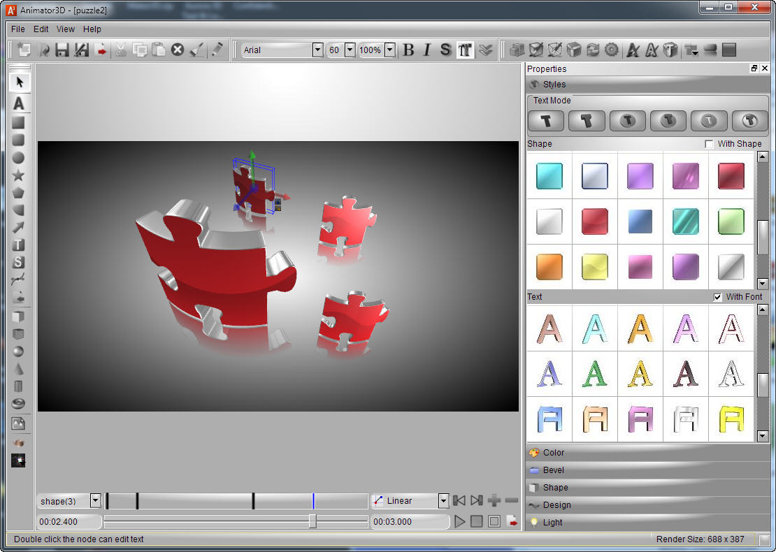 Aurora 3d animation maker   Download   Arkedy info   Tech