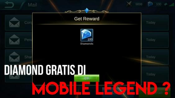 Cara Mendapatkan Diamond Mobile Legend Gratis Tanpa Aplikasi Whaff