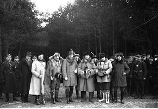 Polowanie reprezentacyjne w Spale 1927