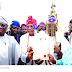 The installation of Olu Of Iwaya, Oba Ogun-Oloko by Ambode