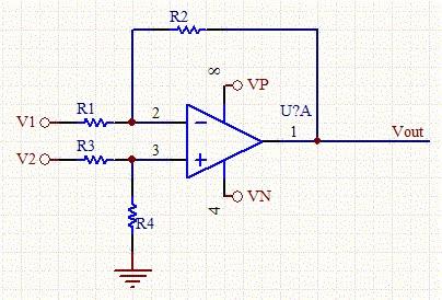 الة حاسبة لدائرة Op-amp و الـ Gain