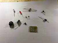 Infrared transmitter parts