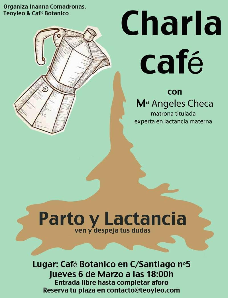 Charla café Parto y Lactancia en Zaragoza
