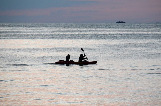 Lake Erie Winds Evening Kayakers