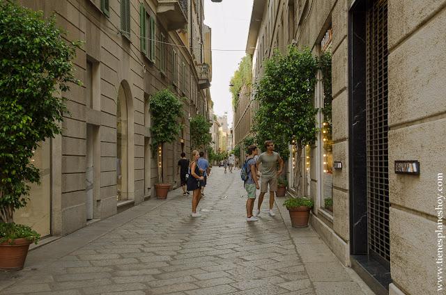 Cuadrilatero de la moda Milán viaje turismo Italia imprescindibles
