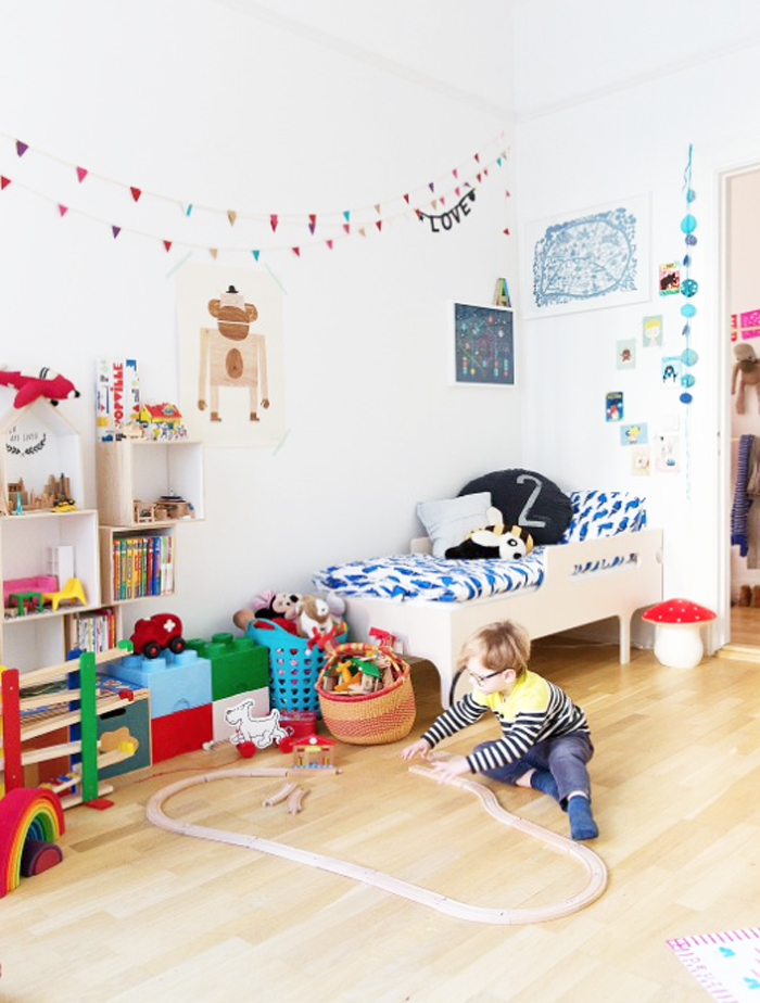R toddler bed rafa-kids in child room in malmo
