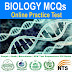 Biology Solved MCQs Practice Test List