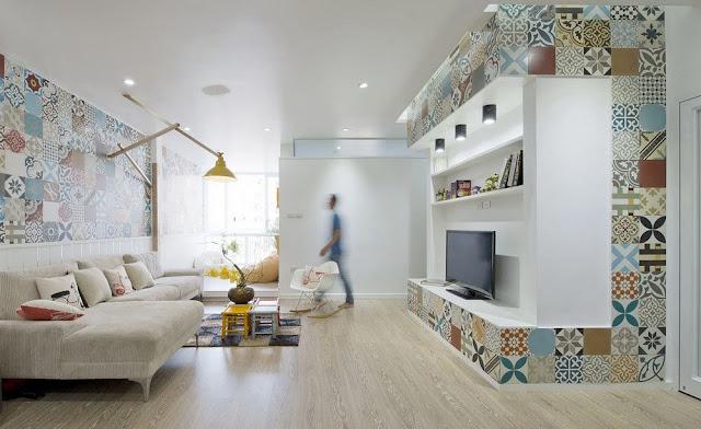 interior ruang tamu minimalis mewah